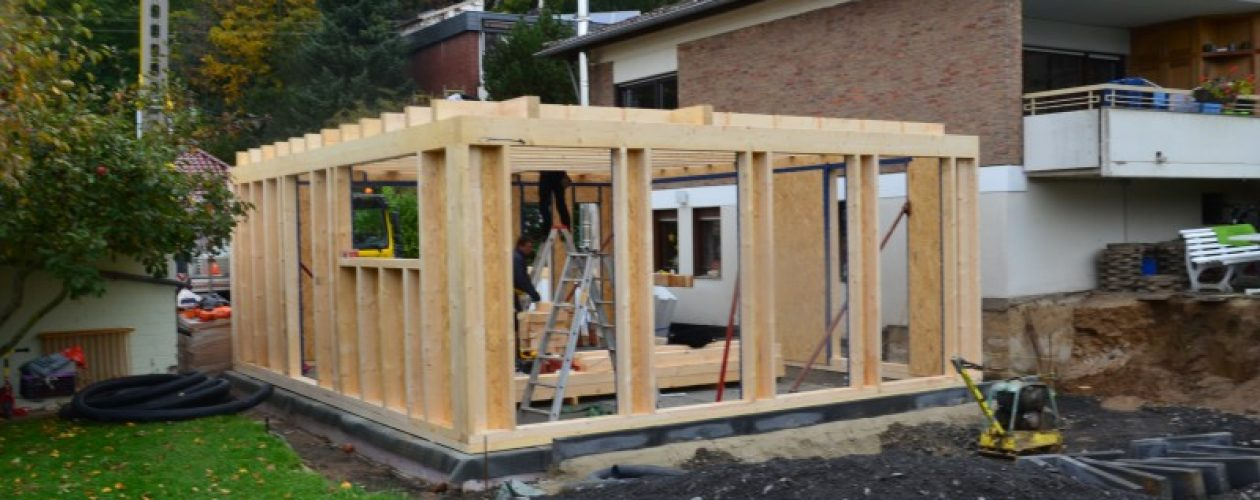 Holzrahmenbau Wohnraumerweiterung