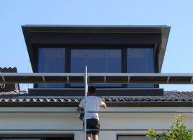 Dachgaube im Wohnhaus