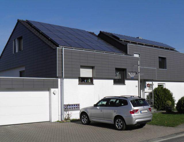 Energetische Dach- und Fassadensanierung